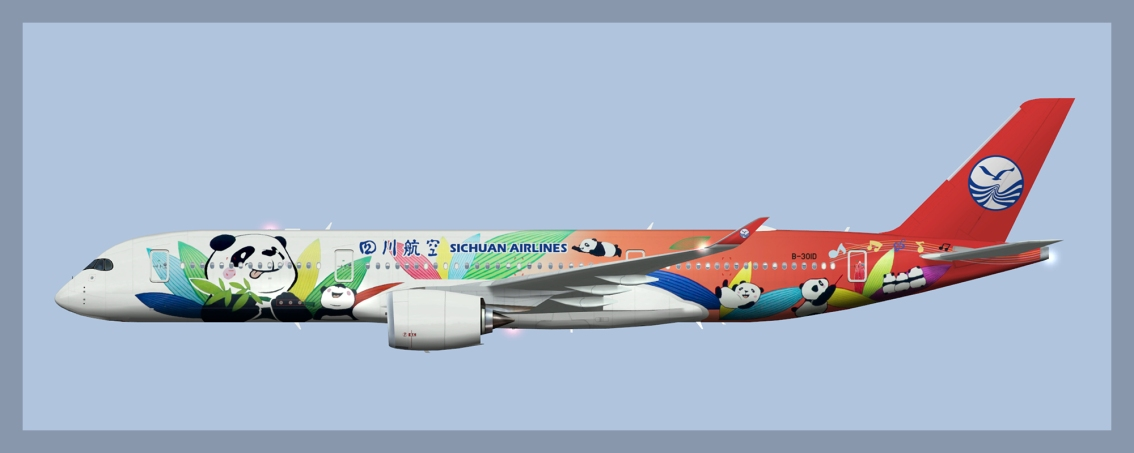 Sichuan Airlines Airbus A350-900