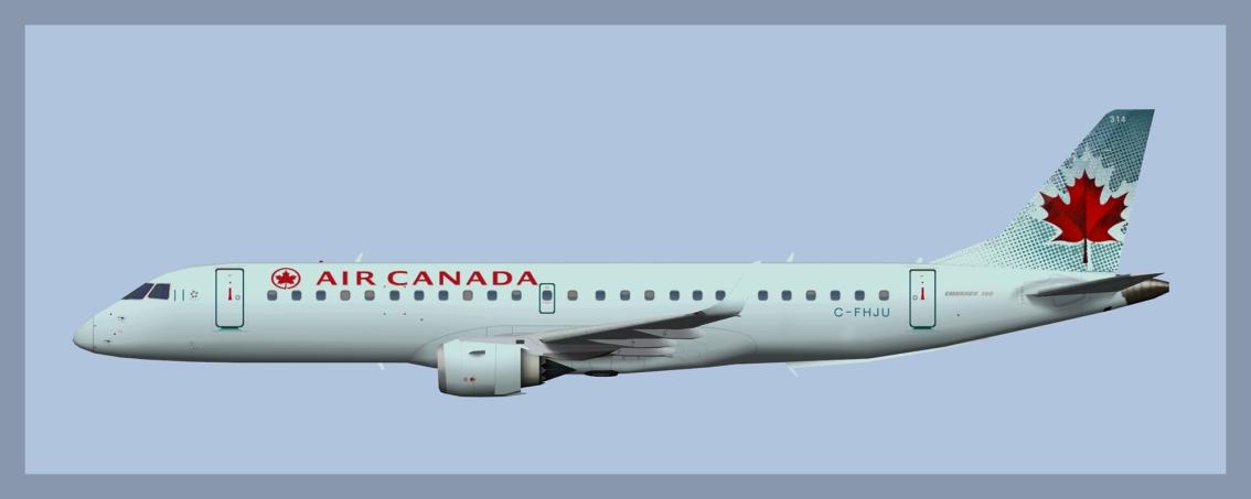 Air Canada Embraer E190OC
