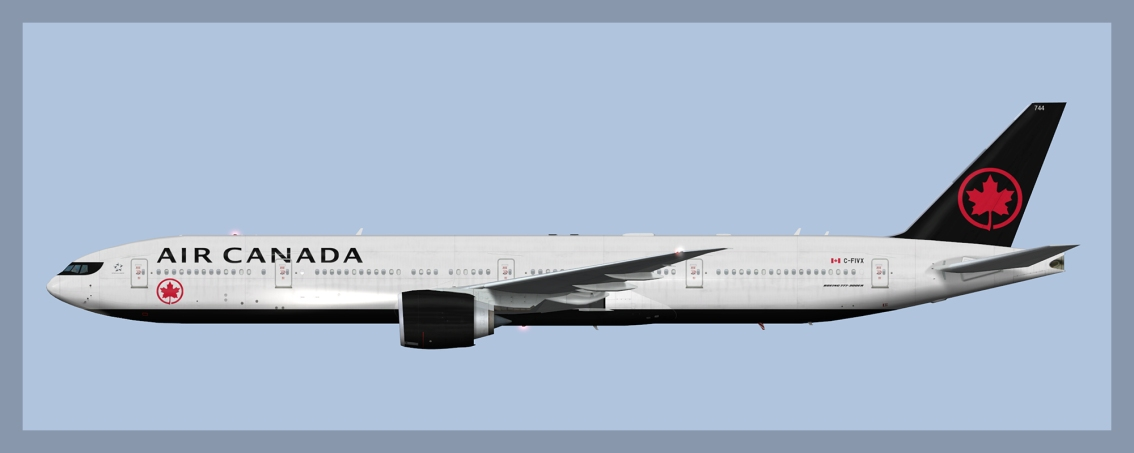Air Canada Boeing 777-300ER Fleet 2019