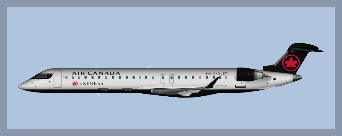 Air Canada Express Bombardier CRJ900 Fleet 2019