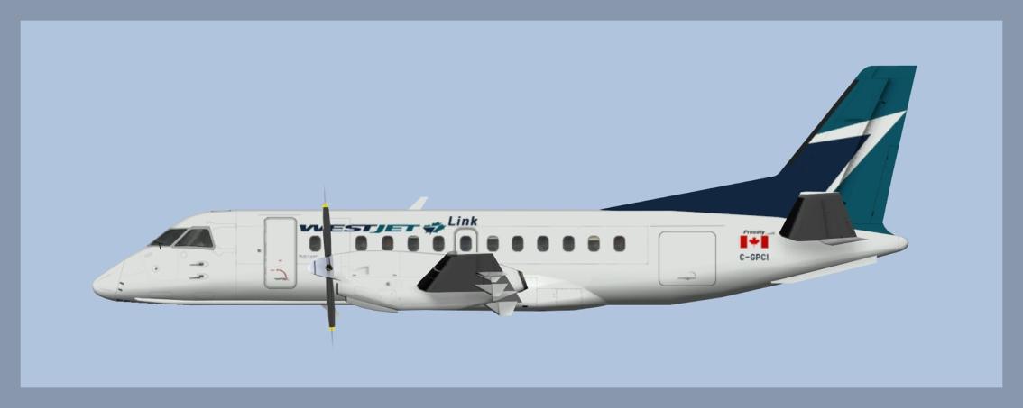 Westjet Link SAABSF340