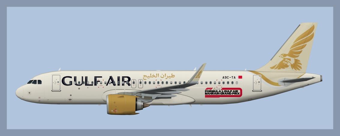 Gulf Air Airbus A320NEO2019