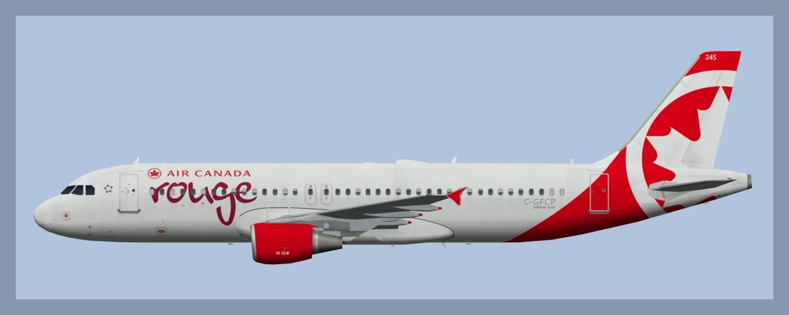 Air Canada Rouge AirbusA320