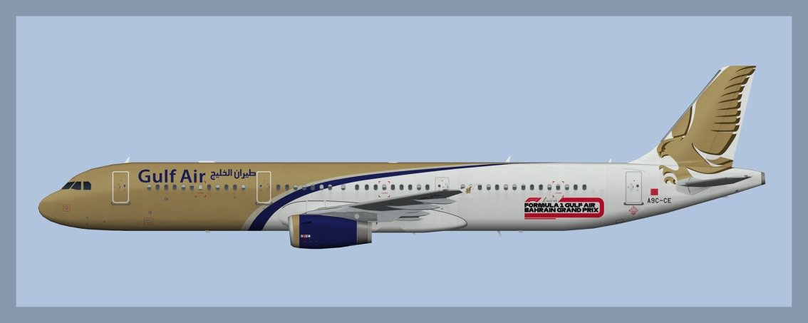 Gulf Air Airbus A3212019