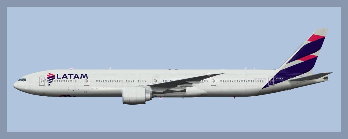 LATAM Brasil Boeing 777-300ERFleet