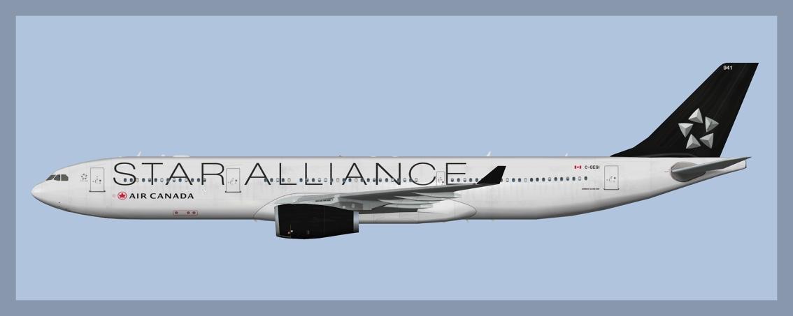 Air Canada Airbus A330-300Ex-TAP