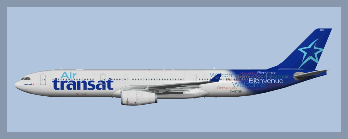 Air Transat Airbus A330-300 C-GTSDOC