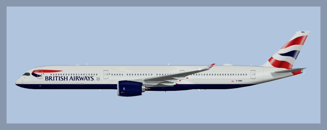 British Airways Airbus A350-1000