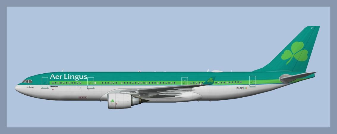 Aer Lingus Airbus A330-200EI-GEY