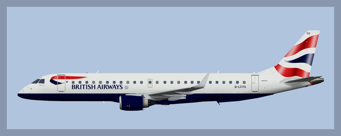 BA Cityflyer Embraer E190NC