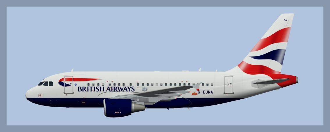 British Airways AirbusA318
