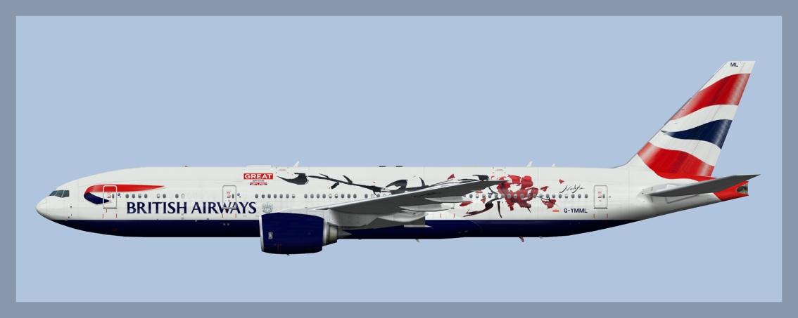 British Airways Boeing 777-2002019