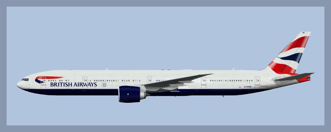 British Airways Boeing 777-300ER2019