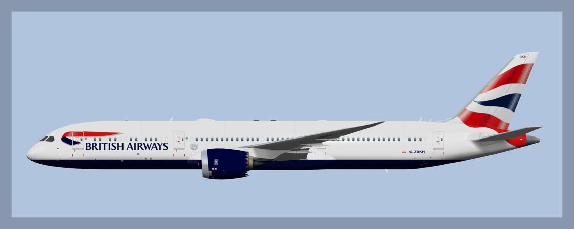 British Airways Boeing 787-92019