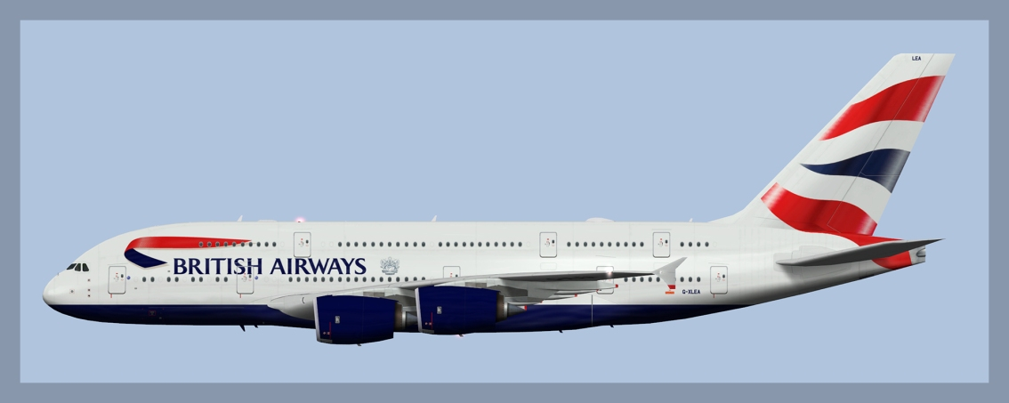 British Airways Airbus A380-8002019