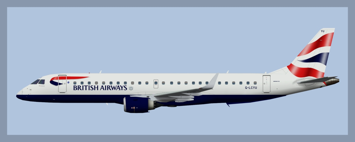 BA Cityflyer Embraer E190 Fleet 2019
