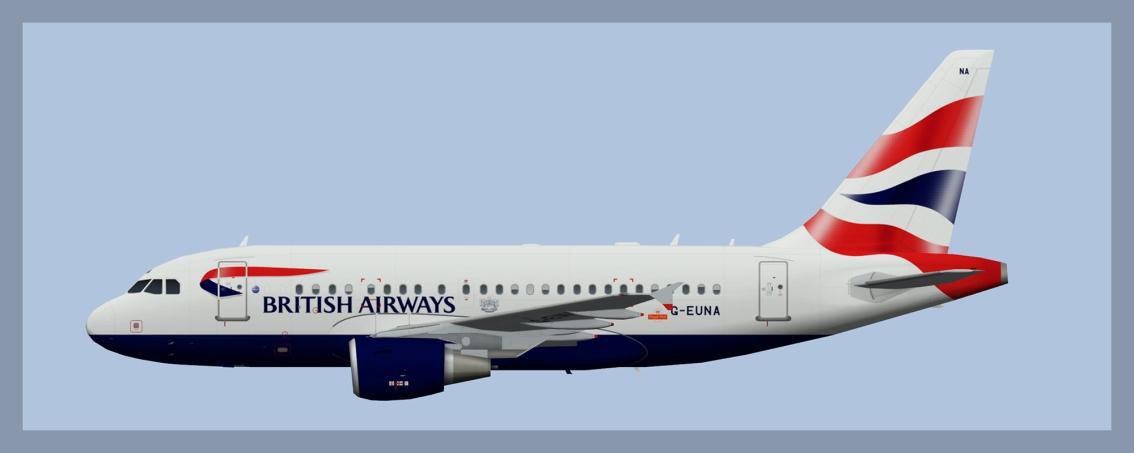 British Airways Airbus A318 2019V2