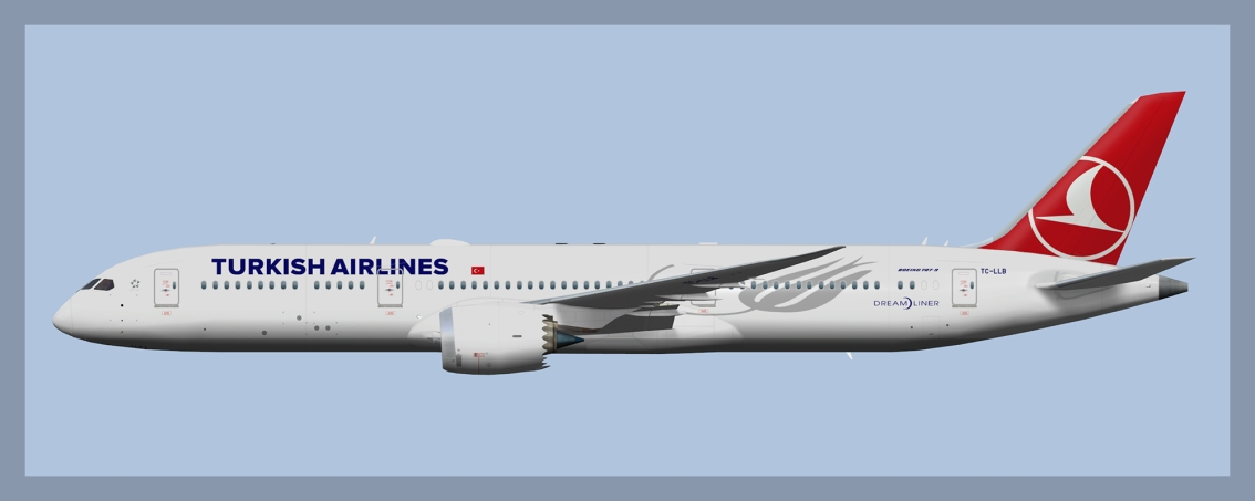 Turkish Airlines Boeing 787-9