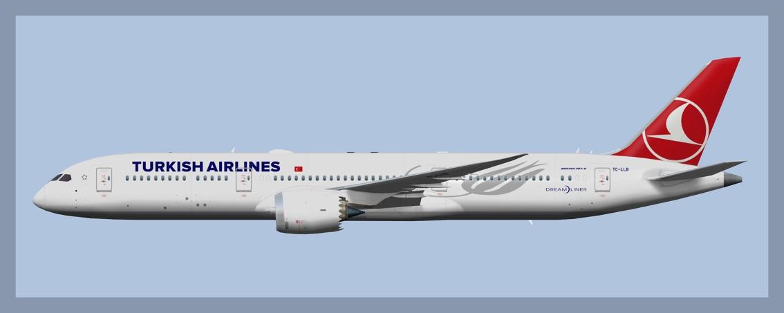 Turkish Airlines Boeing787-9