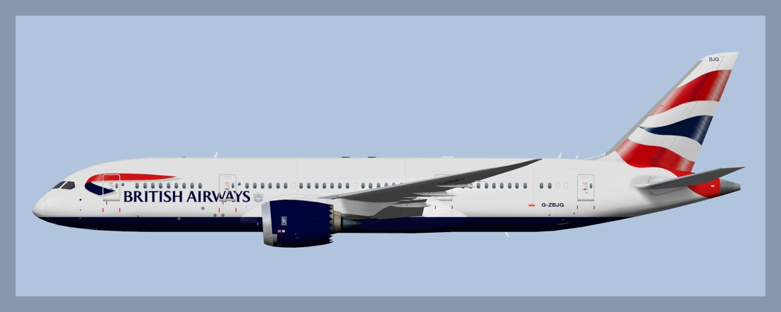 British Airways Boeing 787-8 2019 V2