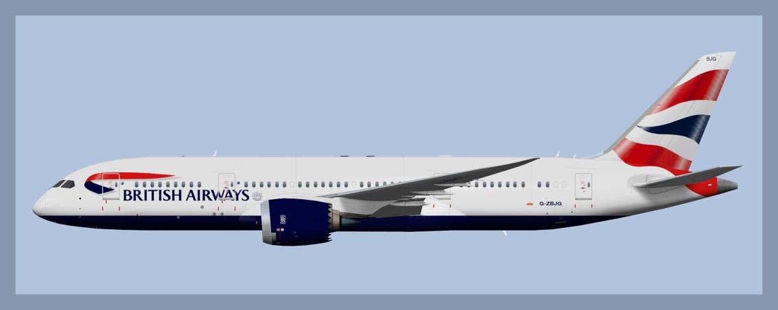 British Airways Boeing 787-8 2019V2