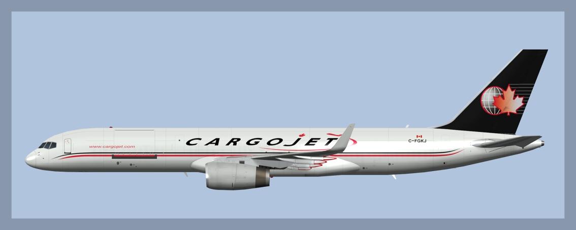 Cargojet Boeing 757-200W Update2020
