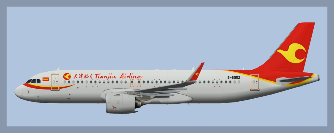 Tianjin Airlines Airbus A320NEO