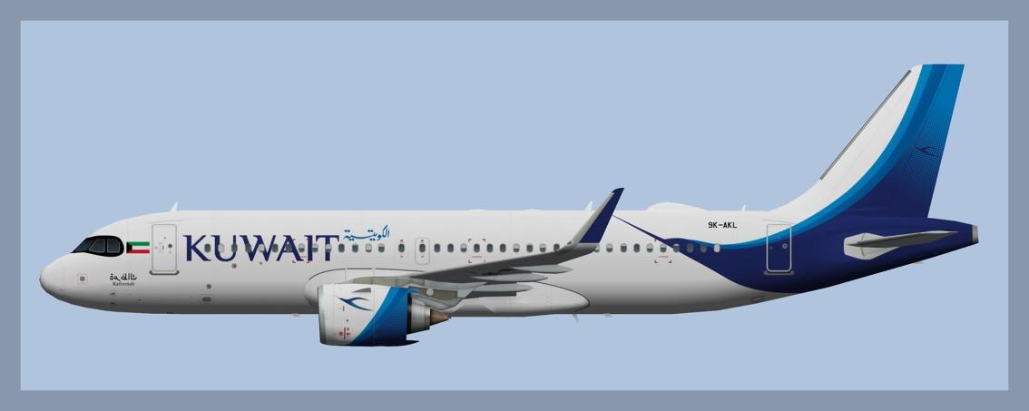 Kuwait Airways AirbusA320NEO