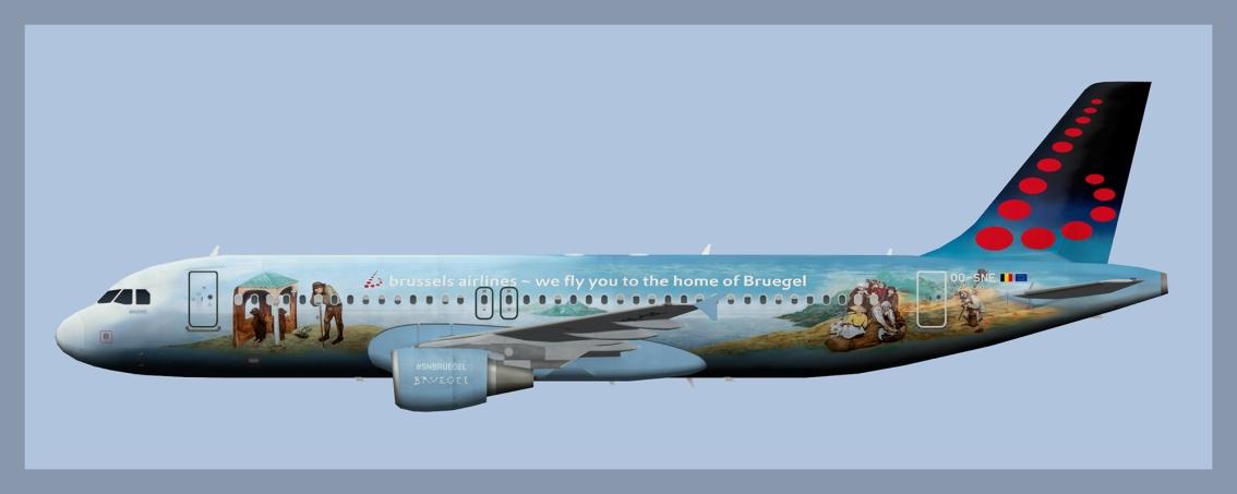 Brussels Airlines Airbus A320 OO-SNEBruegel