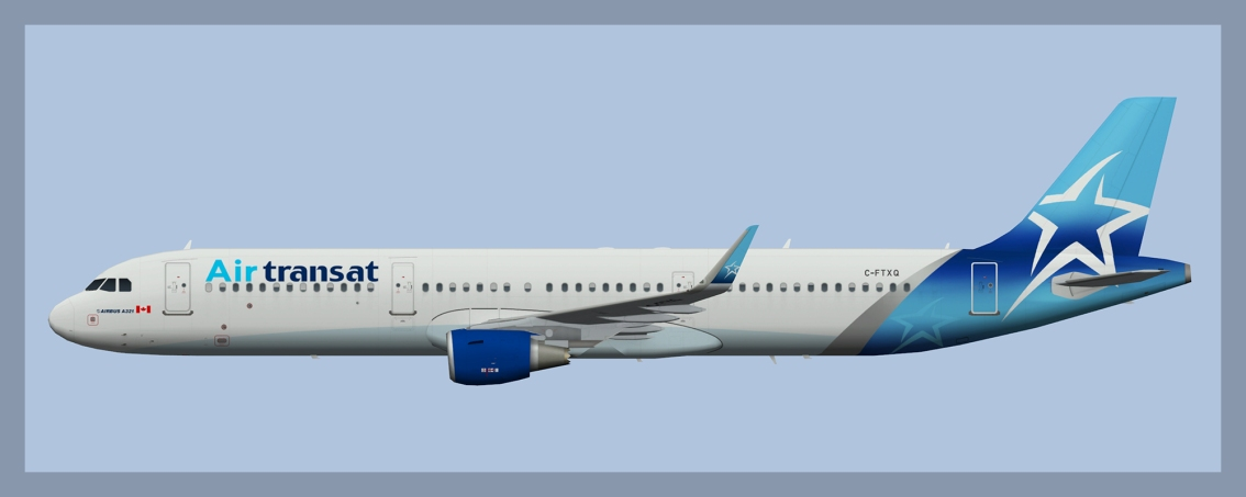 Air Transat Airbus A321 Winter 2020 Update
