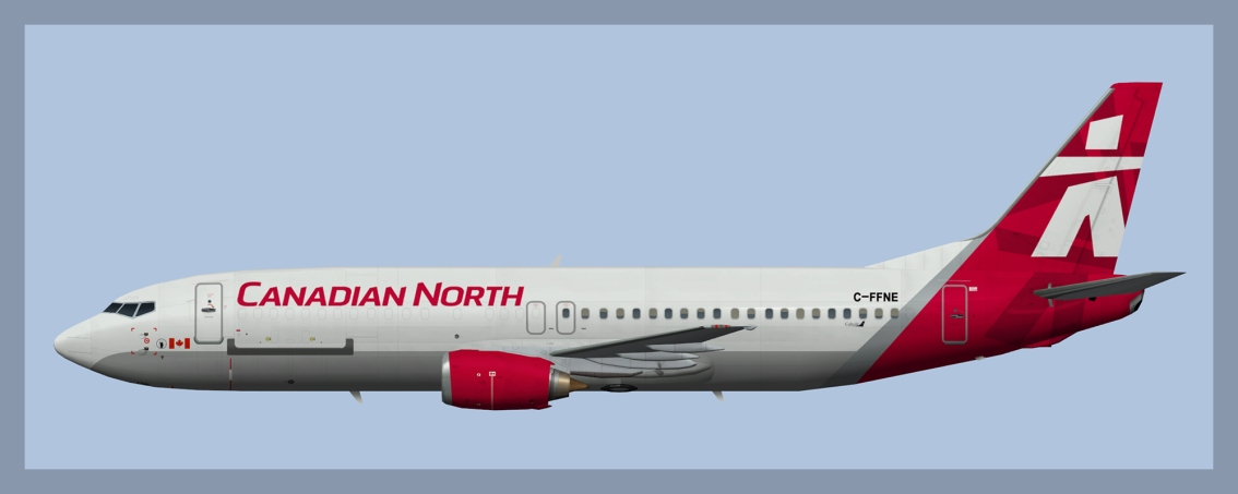 Canadian North Boeing 737-400 Fleet 2020