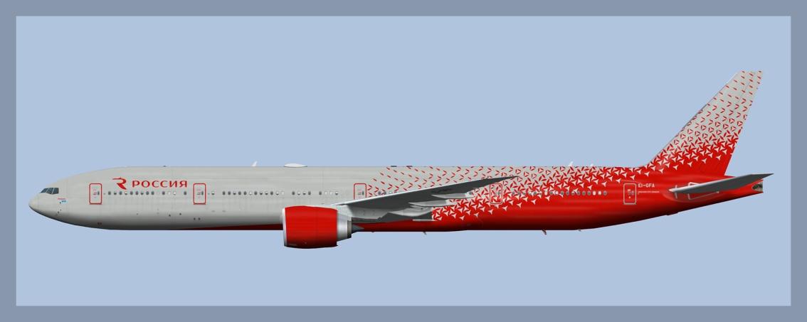 Rossiya Airlines Boeing777-300ER