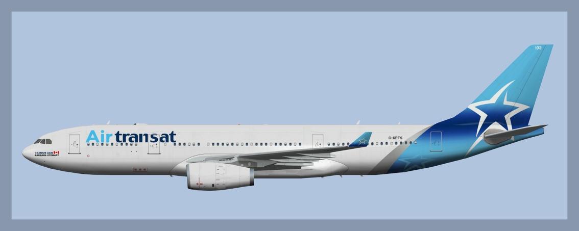 Air Transat Airbus A330-200C-GPTS