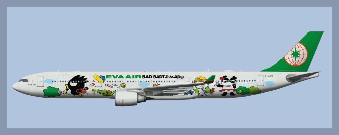 EVA Air Airbus A330-300Fleet