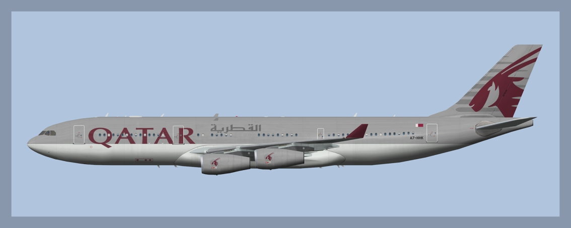 Qatar Amiri Flight Airbus A340-200