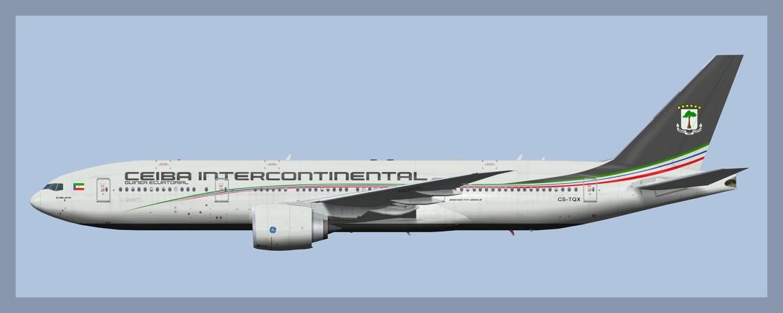 Ceiba Intercontinental Boeing777-200LR