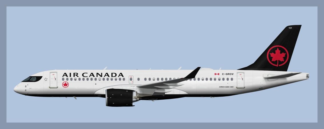 Air Canada AirbusA220-300