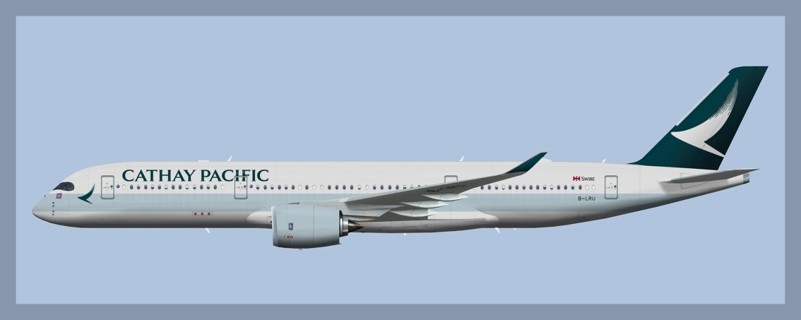 Cathay Pacific Airbus A350-900 Fleet