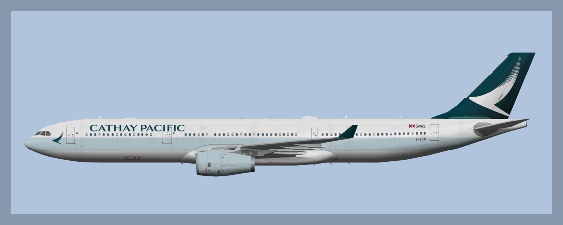Cathay Pacific A330-300 B-LAP Wifi Dome