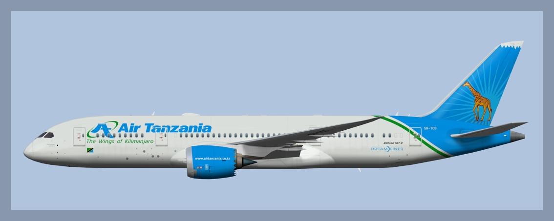 Air Tanzania Boeing787-8