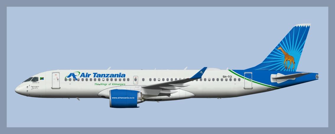 Air Tanzania AirbusA220-300