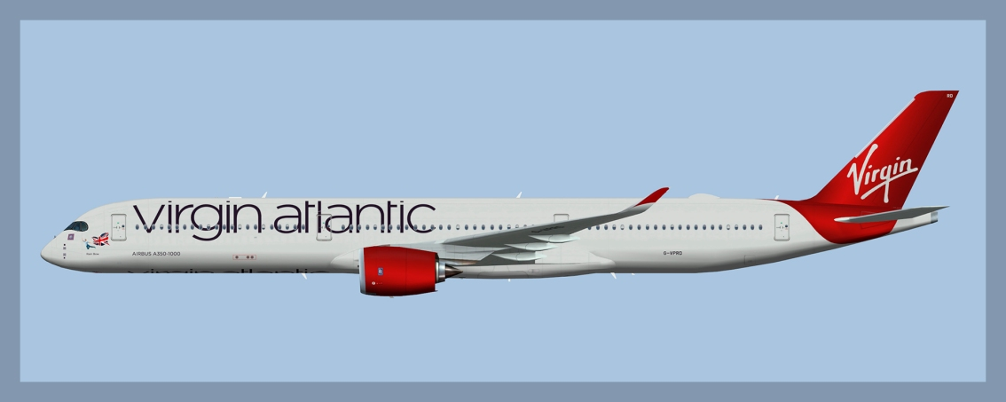 Virgin Atlantic Airbus A350-1000Fleet