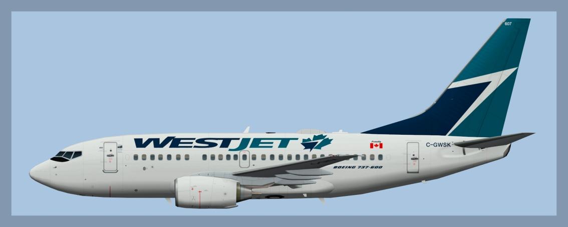 Westjet Boeing 737-6002020