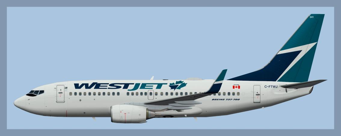 Westjet Boeing 737-7002020