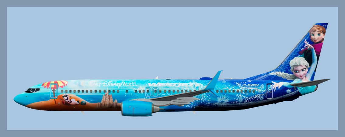 Westjet Boeing 737-800 2020(FAIB)