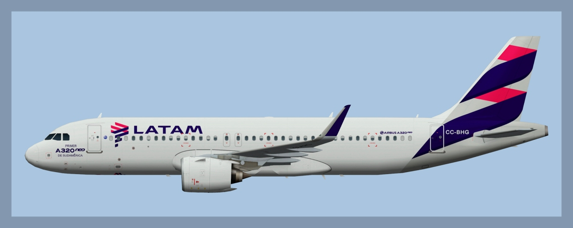 LATAM Chile Airbus A320NEO 2020