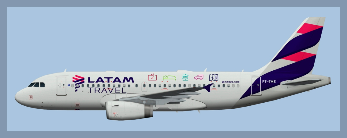 LATAM Airlines Airbus A319 2020