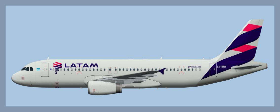 LATAM Airlines Airbus A320 IAE2020