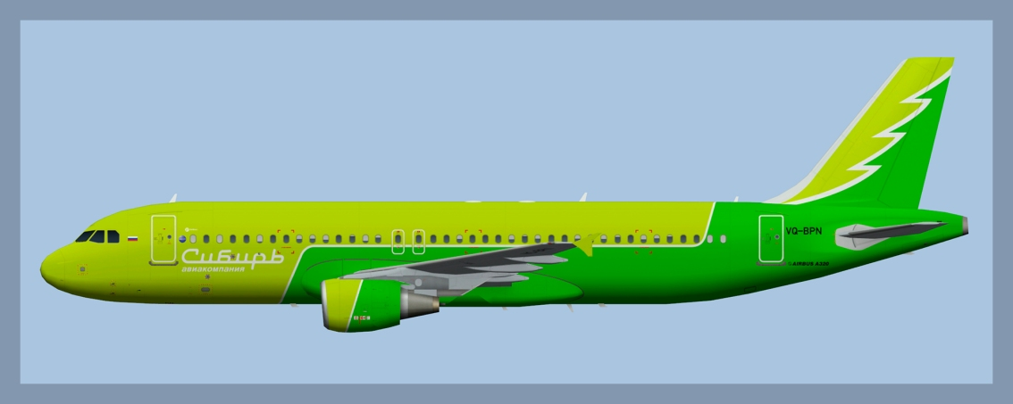 S7 Airlines A319/320/321 Update