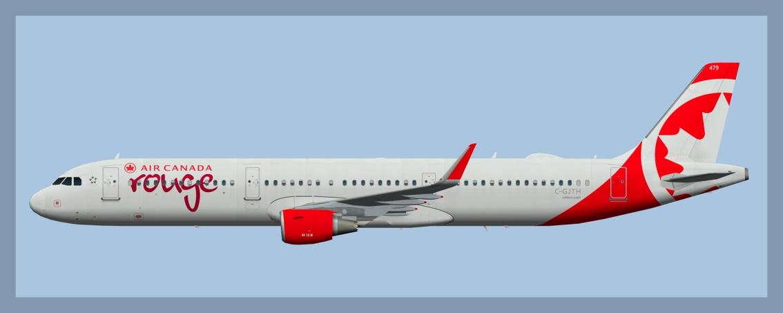 Air Canada Rouge Airbus A3212020